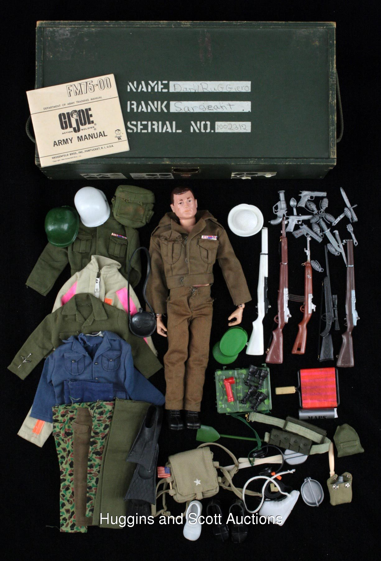 Vintage Gi Joe Barbie Toy And Accessory Collection